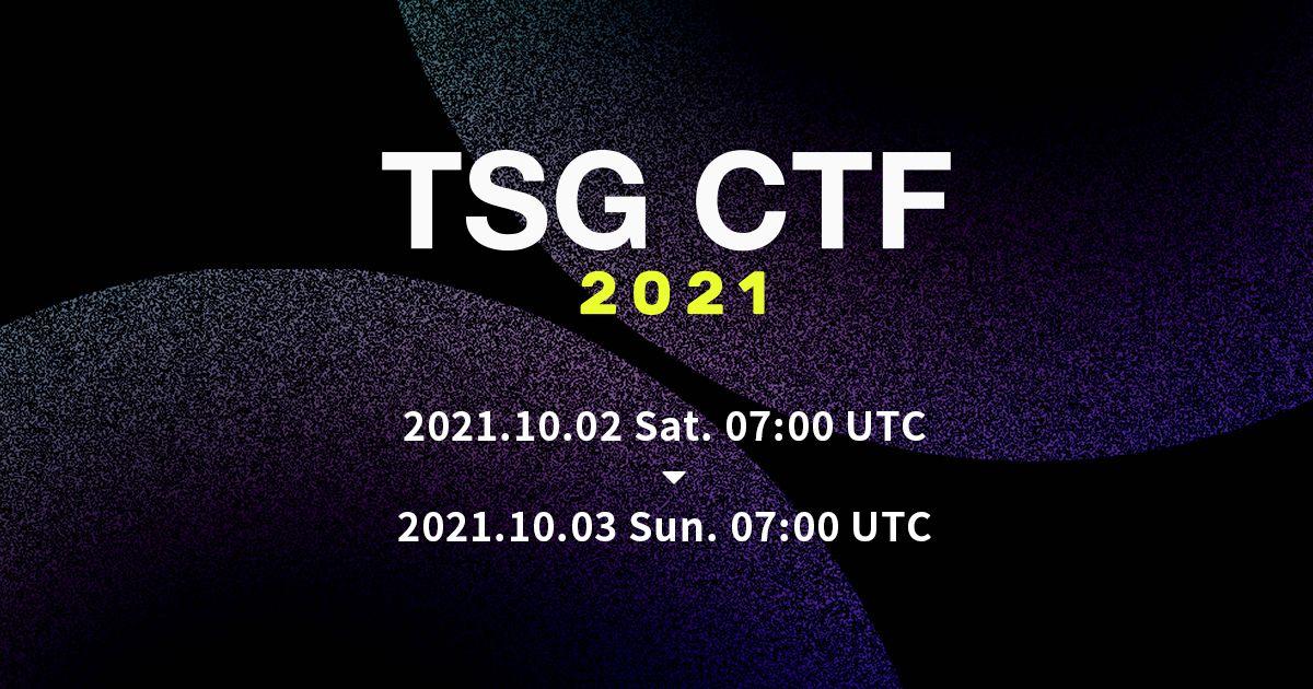 TSG CTF